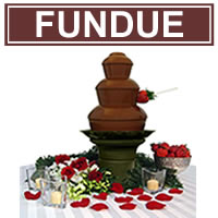 Fundue chocolate fondue fountain - 19 inch