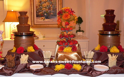 Sephra Classic Chocolate Fountain Wedding Event Pack