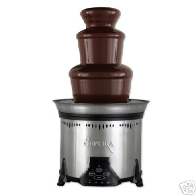 Sephra Elite Stainless Steel Chocolate Fountain