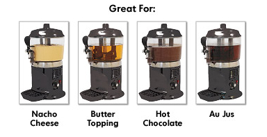 Hot Chocolate Beverage Topping Dispenser